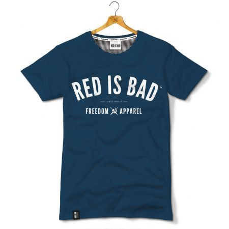 Red is Bad - Freedom Apparel - granatowa