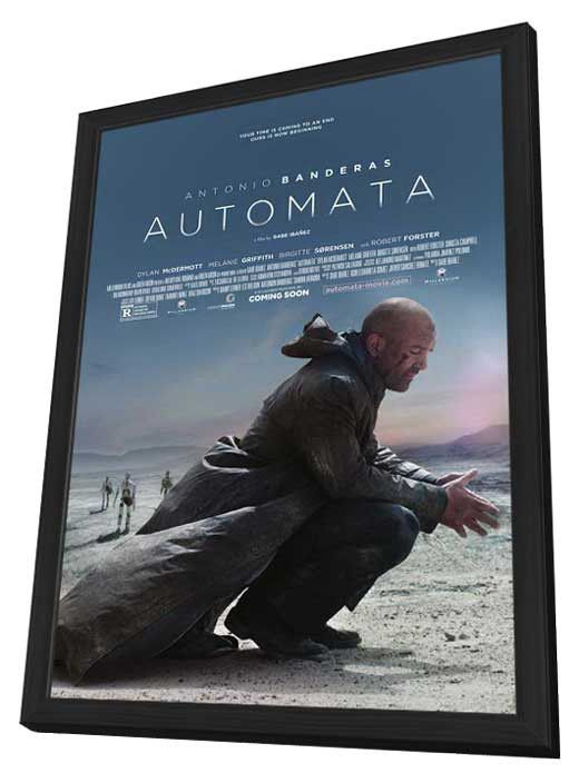 Automata 27x40 Framed Movie Poster (2014)