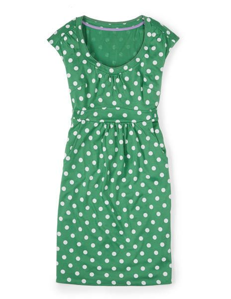 Boden - Casual Weekend Dress - I am convinced this is the greatest casual dress ever made.  Also in the navy/coral pattern.