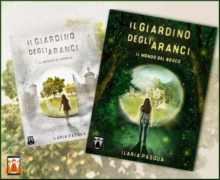 """Le due copertine de """"Il Giardino degli Aranci""""!"""