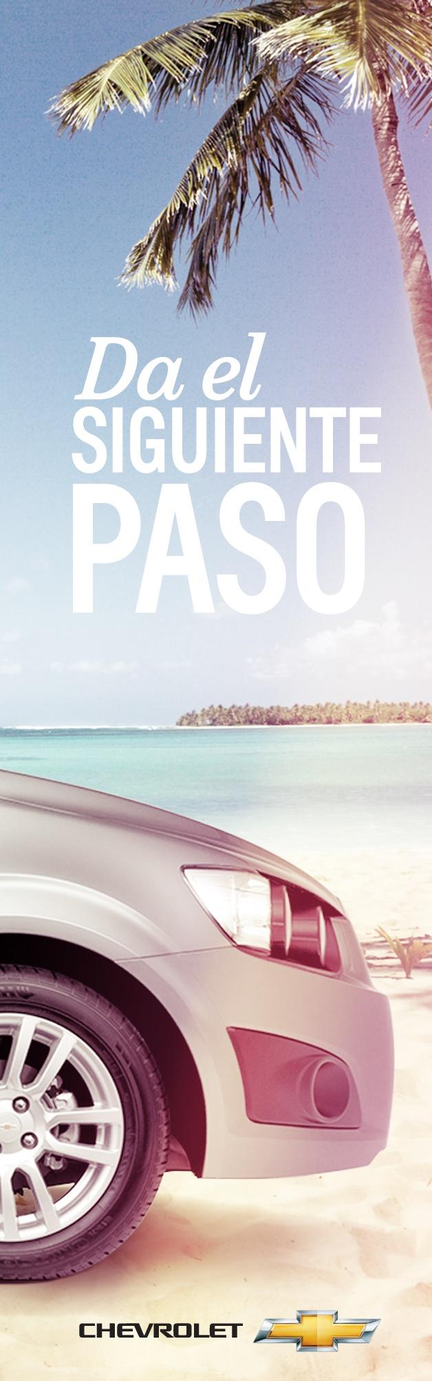 Foto 4. Completa la imagen y descubre más formas de vivir la aventura. #ChevroletSonicLlego