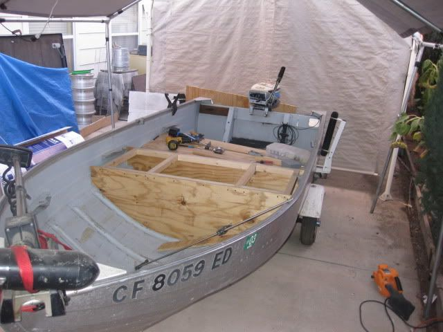 1968 12' foot Mirrocraft aluminum boat mod Page: 1 - iboats Boating Forums | 359418