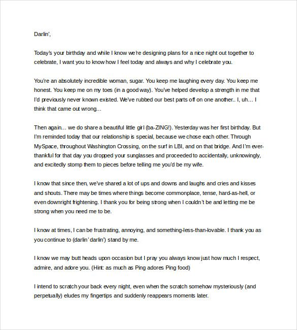 Thank You Letter To My Wife from i.pinimg.com