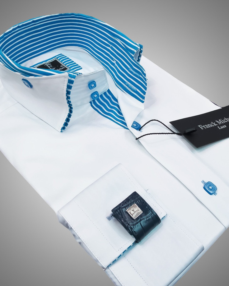 Luxury shirts for men - Vegas white