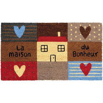 Paillasson Design Maison Coeur