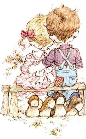 Holly Hobbie and Sarah Kay ruled in the late 70's- and early 80's. Description from pinterest.com. I searched for this on bing.com/images