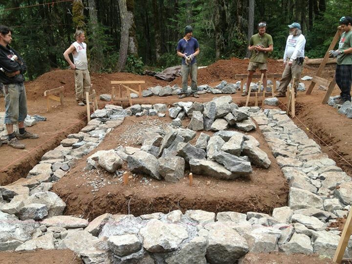 17 best images about foundations on pinterest cob houses for Foundations for homes