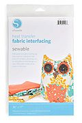 Silhouette America - Heat Transfer Fabric Interfacing - Sewable at Scrapbook.com