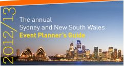 Sydney and New South Wales Event Planner's Guide 2012