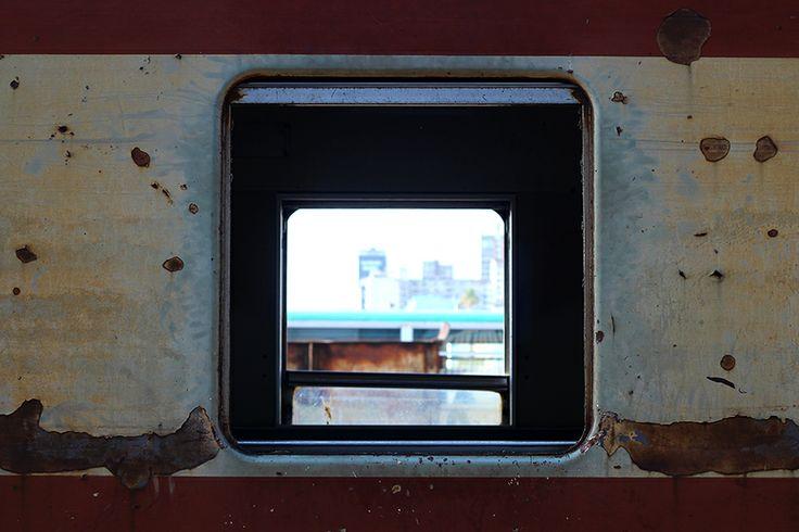 City through the window