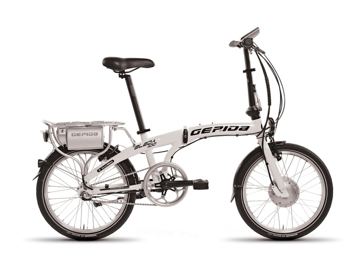 Gepida Electric Bicycles - Bleda  - a great compact folding e-bike