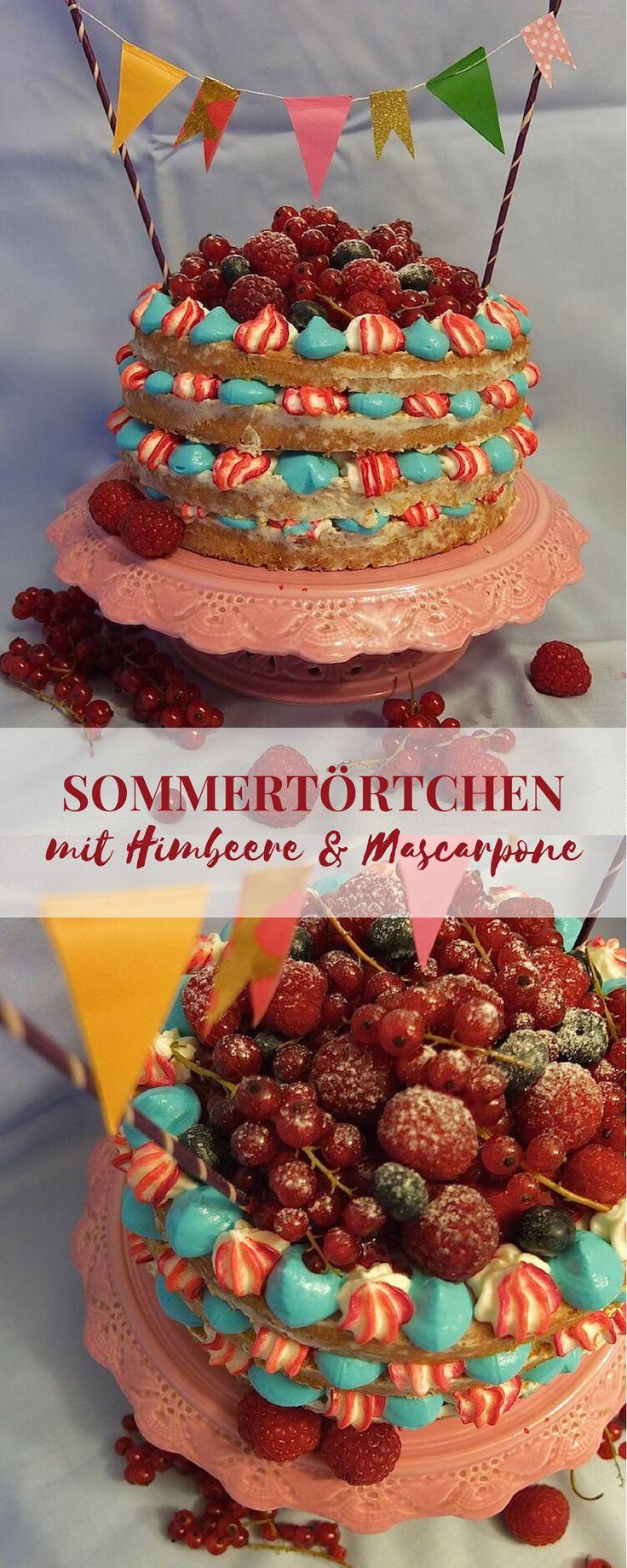 Küchenideen eng erdbeerrhabarbertörtchen mit mascarponecreme  recipe  patisserie