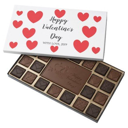 Custom Candy - Valentine's Day hearts Assorted Chocolates - valentines day gifts love couple diy personalize for her for him girlfriend boyfriend
