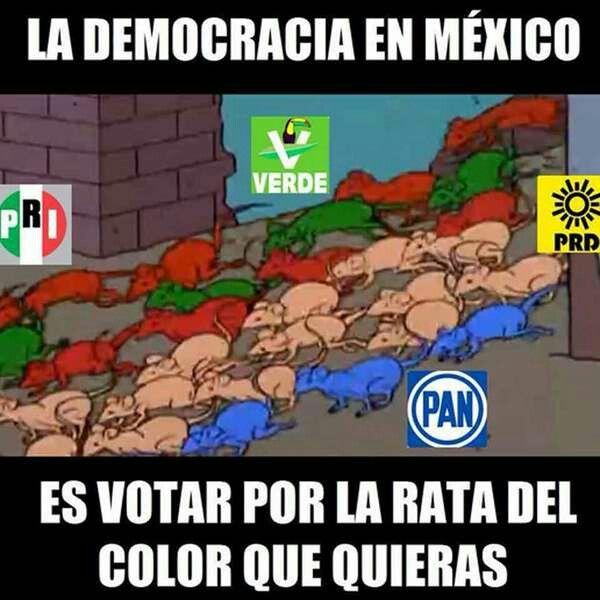 Resultado de imagen para politicos ratas de mexico