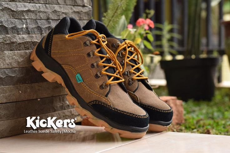 Kickers Goretex Safety Kulit Suede