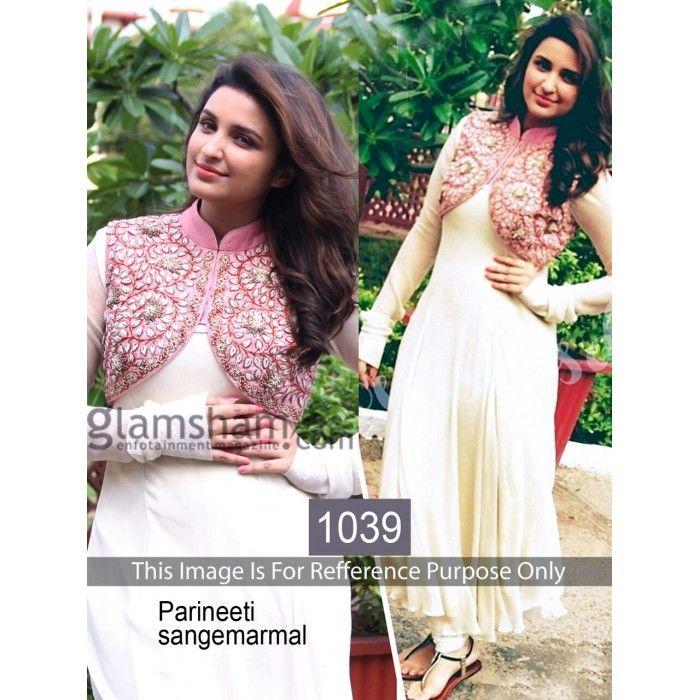 Sangemarmar White Parineeti Designer Salwar Kameez