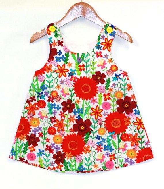 Bebé vestido de flor vestidos para bebé niña por ElleBelleBliss