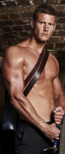 So, the man I marry doesn't need to have six pack abs...  He just needs to look like THIS.  Tom Hopper (actor)