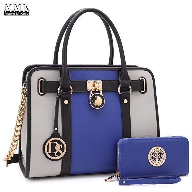 MMK Collection Fashion Classic Packlock Designer Handbag for Lady Signature fashion Designer Purse Handbag