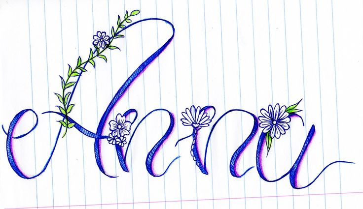 My name by Anna