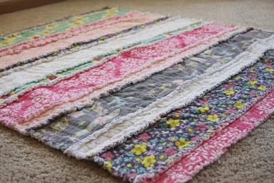 diy rag blanket