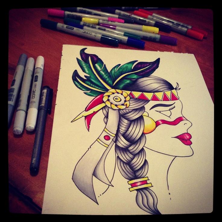 Native Indian Girl