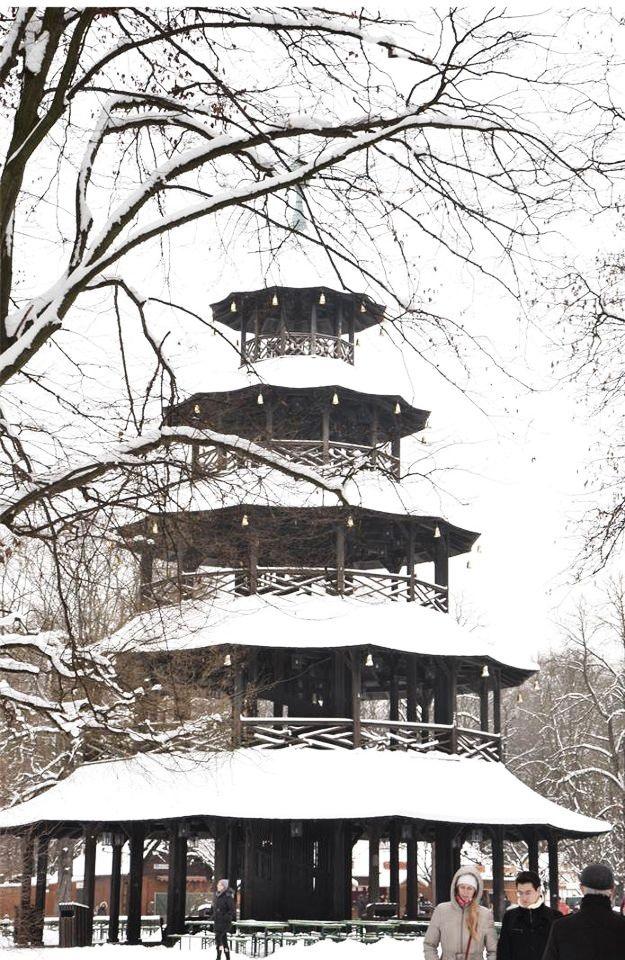 Chinesischer Turm Englischer Garten
