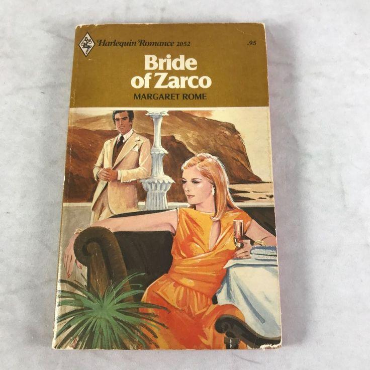 vtg Bride of Zarco Book Margaret Rome 1976 Harlequin Romance Novel 1st PB 1977  | eBay