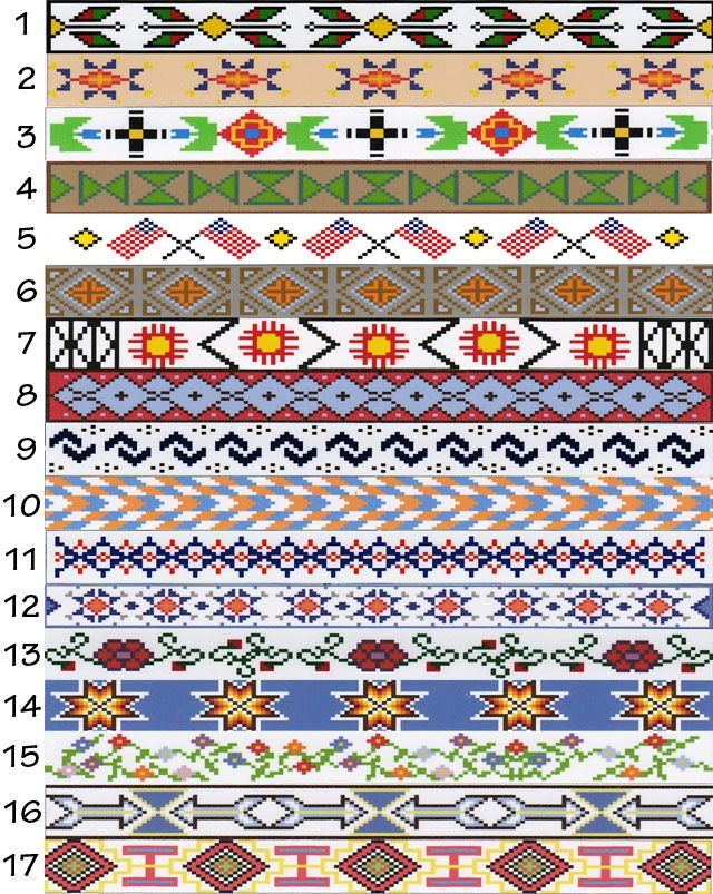 Häufig 710 best Native American Bead work designs images on Pinterest  PP81