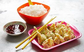 Dumplings med kyckling
