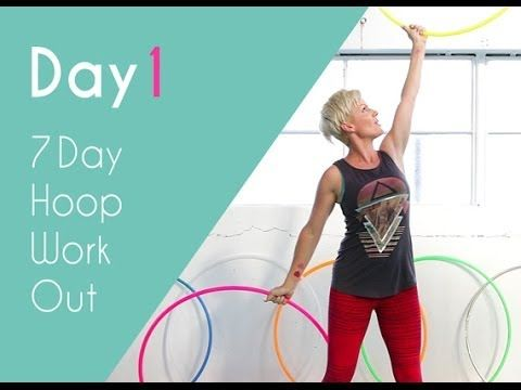 Day 1 of the 7 Day Hoop Work out - Dancer Arms. Get strong, lean arms with this hoop workout. http://hooplovers.tv/day-1-dancer-arms-workout-7-day-hoop-workout/