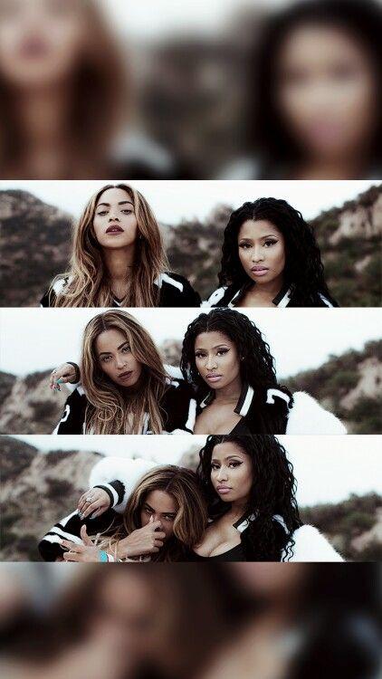 Nicki a B are flawless