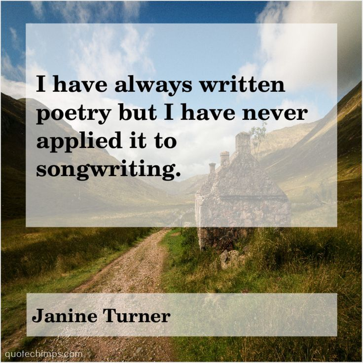 Janine Turner I have always written poetry | Janine turner ...