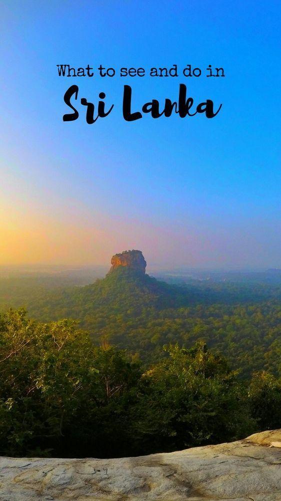 Climb Pidurangala Rock and See Sigiriya Rock. #Pidurangala #Sigiriya - Things to do in Sri Lanka. #SriLanka