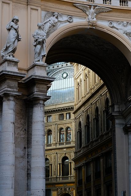 mostlyitaly:  Galleria Umberto I (Napoli) by Max Sat on Flickr.
