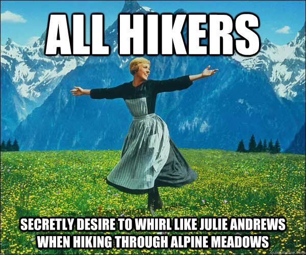 20 of the funniest hiking memes and gifs on the Internet