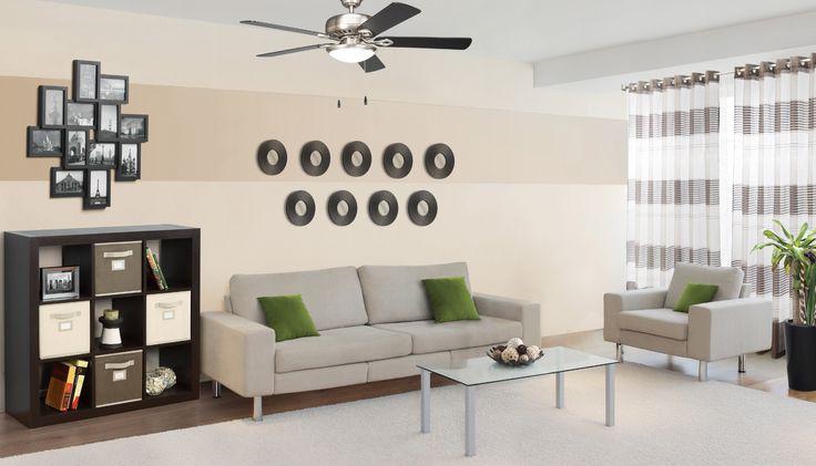 Decoración del hogar, decoración para sala color beige. Colores neutrales para sala.
