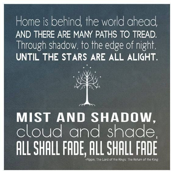 Good Morning Hobbit Quote: 17 Best Images About Middle-Earth On Pinterest