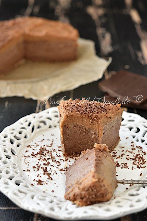 Schoko Hirse Kasekuchen Ohne Backen Vegan Glutenfrei Rezept In 2020 Kuchen Und Torten Kuchen Und Backen