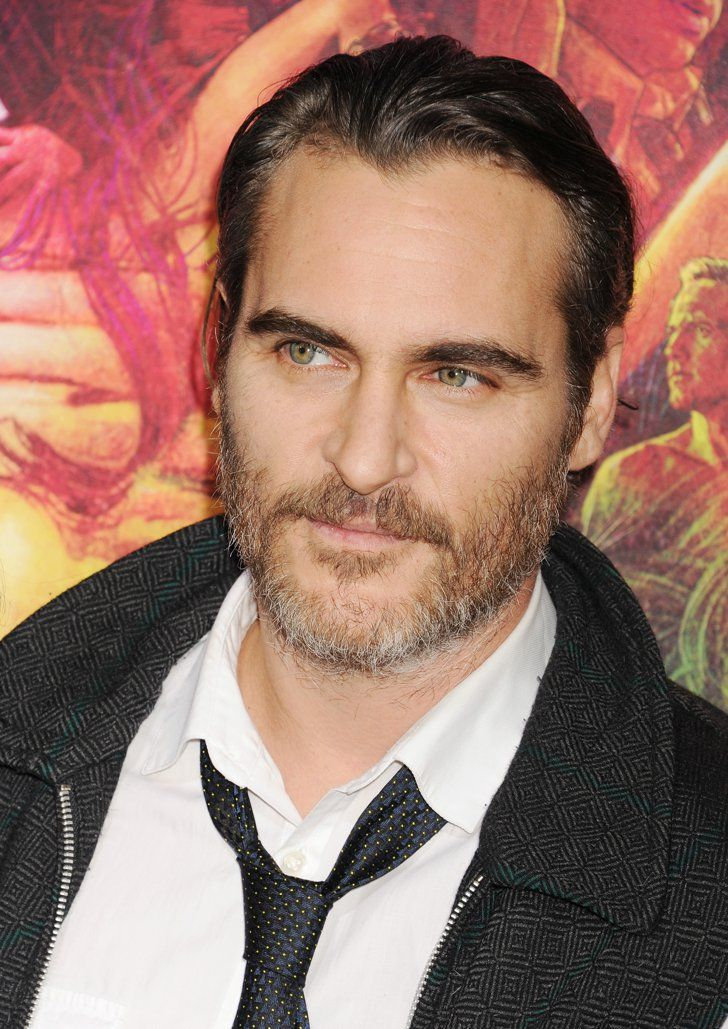 Pin for Later: 45 Famous, Sexy Silver Foxes Joaquin Phoenix