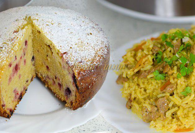 Reteta prajitura cu fructe de padure Reteta vita cu orez si curry
