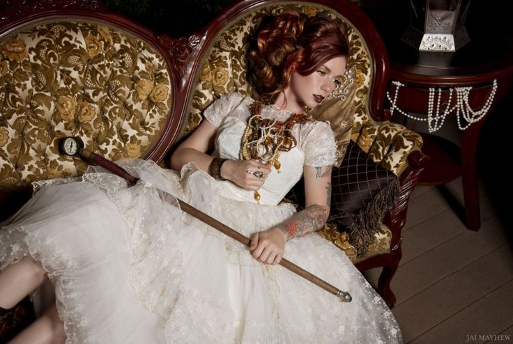 """""""Steampunk and Pearls"""""""