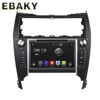 8 inch Quad Core Android 5.1 Car DVD Player For Toyota Camry 2012 Car Radio+GPS Navigation+RDS+Bluetooth+WiFi+Mirror Link