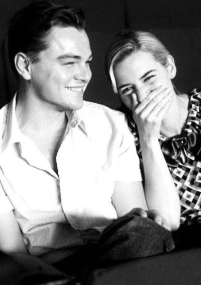 Leonardo DiCaprio and Kate Winslet seriously these two would make the cutest couple on earth!