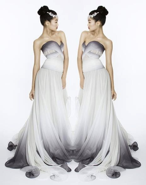 The 25 best carrie underwood new album ideas on pinterest this beautiful ombre gown was featured on carrie underwoods cd hit i love the coloring and the draping just a sophisticated and sexy flowing gown by junglespirit Gallery