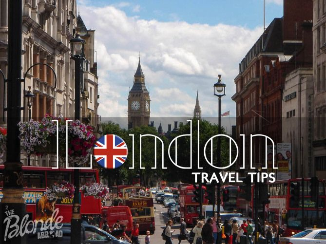 London Travel Tips from the Blonde Abroad
