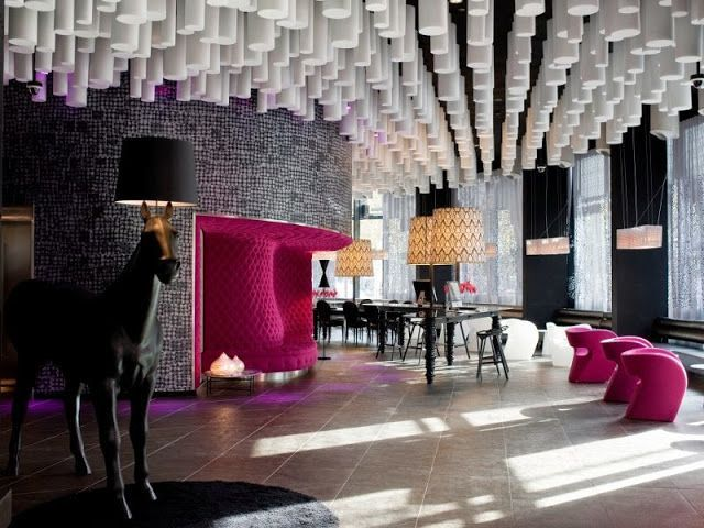 Brunch en Barcelona. Hotel Barceló Raval. Lugares con encanto. www.caucharmant.com
