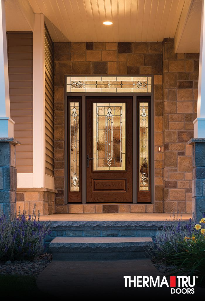 10 best images about classic craft oak collection on for Therma tru garage doors