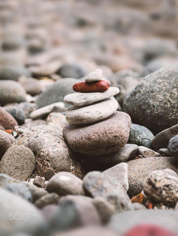 Stacked Pebbels - had fun stacking the pebbles to get the perfect stack, my friend also helped and after many tries finally got the shot.
