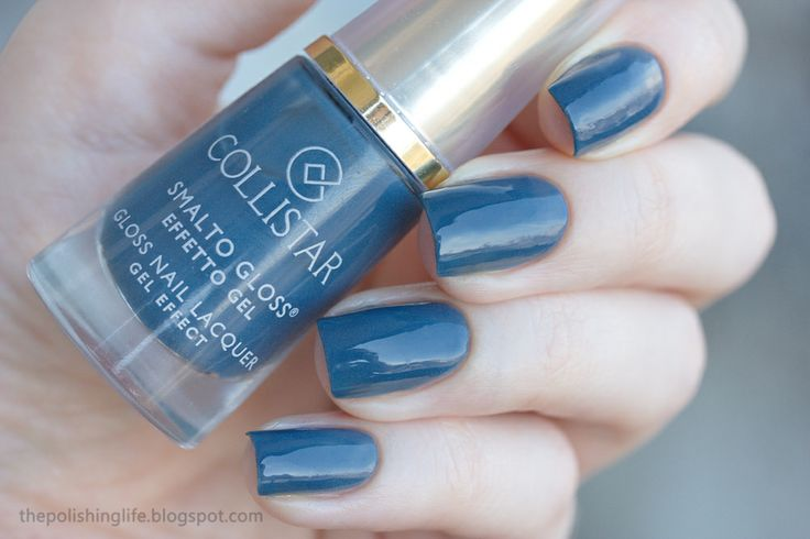 The Polishing Life: Collistar 567 Navy Chic swatches and review